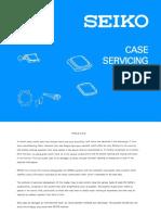 1982.03 Seiko Case Servicing Guide