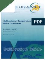 201103_EURAMET_CALIBRATION OF TEMPERATURE BLOCK CALIBRATORS