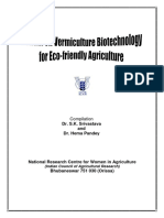 Manual for Vermiculture Biotechnology