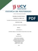 EL PLANEAMIENTO ESTRATEGICO EN EL PERU