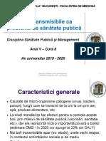 C 8 - Bolile transmisibile ca problema de sanatate publica