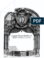 Lenguaje Musical Melodico 4