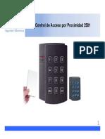 Manual Control de Accesos 2501
