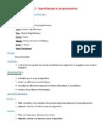 module 3 fiche pedagogique