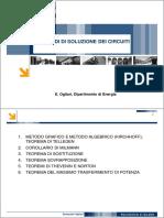 04 METODI DI SOLUZIONE DEI CIRCUITI - GRAFICO ALGEBRICO MILLMANN