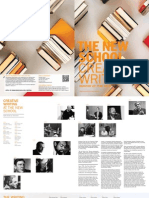 The New School for General Studies / Creative Writing Viewbook 2010