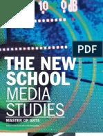 The New School for General Studies / Media Studies Viewbook 2010