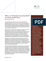 Boxwood What is a 'Technology Operating Model' and which should I have