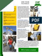 CHF International One Year Anniversary Report Jan 12 2011