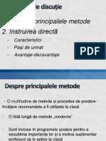 Instruirea Directa