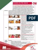 006-2019 Reunión Diaria Pre Inicio Roles y Funciones TEA Trabajos en Altura -  Minera Las Bambas