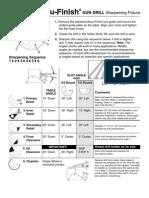 Gun Drill Sharpening Fixture - LIT-079