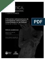 """del Mármol, Mariana """"Apuntes sobre la dimensión afectiva en el teatro desde una etnografía en el circuito independiente de La Plata"""""""
