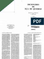 A. Campos de Matos. Dicionário de Eça de Queirós