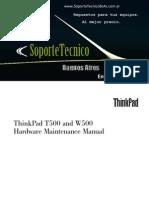 195 Thinkpad t500 w500