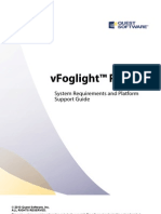vFoglight 6.5 PRO System Requirements