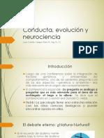 Conducta, evolución y neurociencia