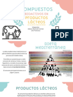 Compuestos Bioactivos en Los Productos Lácteos