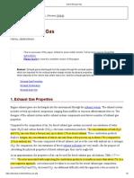 Diesel Exhaust Gas_Properties