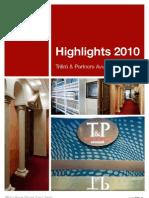 Highlights T&P 2010