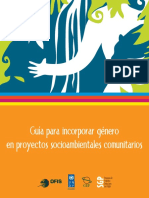 Guia Genero- Ecuador