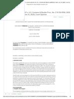 Davis Wright Tremaine LLP v. U.S. Customs & Border Prot.