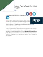 Remedios Caseros Para la Tos en los Niños.docx