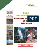 Plan de Desarrollo Regional Concertado 2008 - 2015