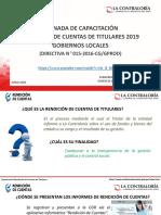 Capacitación IARC 2019-GL y GR