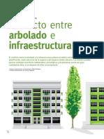 Conflicto entre arbolado e infraestructura