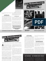 Kein Naziaufmarsch im Februar 2011 in Dresden!
