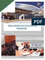 REGLAMENTO DE ESTUDIOS DE PREGRADO