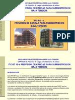 ICT-BT 10 Prevision de Cargas Pa Suministros en BT
