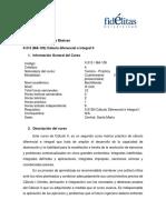 Programa II-315 Cálculo II