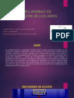 MECANISMO DE ACCIÓN DE LOS AINES