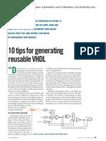 _Portable & Reusable VHDL - Tips.pdf