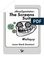 Endless Spectator, The Screens Suite by Jesse Damiani Book Preview