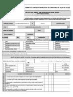ANEXO 1.Formato encuesta de diagnóstico de condiciones de salud de la población trabajadora