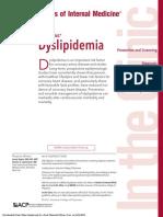 dyslipidemia 2017