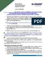 Bonificatii ANAF 2020