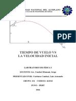 informe de laboratorio fisica III