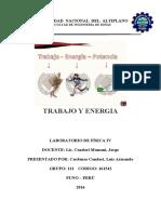informe de laboratorio fisica IV