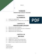 PRESUNCIONES LEGALES Y MEJORAS