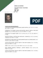 Defendant Information