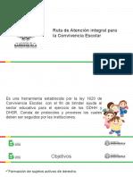 CHARLA RUTA DE ATENCIÓN