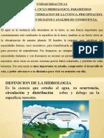 U.D.I. INTRODUCCION, CICLO HIDROLOGICO.pptx