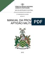 MANUAL DA PROVA DE APTIDÃO MILITAR