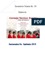 RELATORIA  CTE INTENSIVO 2019-2020