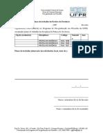 Prática de Docência - relatório inicial