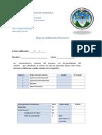 Hoja de Calificacion Proyecto 2 2020